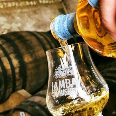 Lambay Irish Whiskey, unique novelty!