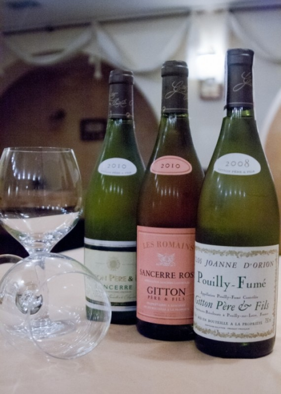 Tasting of French wines, which Ukrimport company introduces to Ukrainians