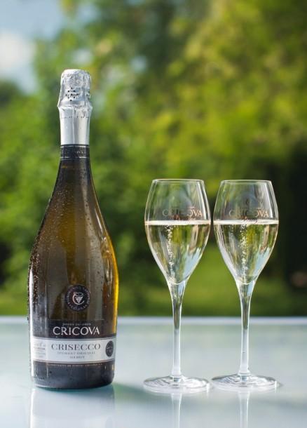 Комбинат CRICOVА представил игристое вино «Crisecco»