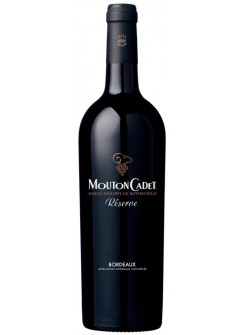 Вино Mouton Cadet Reserve Bordeaux Rouge (Мутон Каде Резерв Бордо Руж)