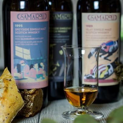 Legendary whisky Samaroli